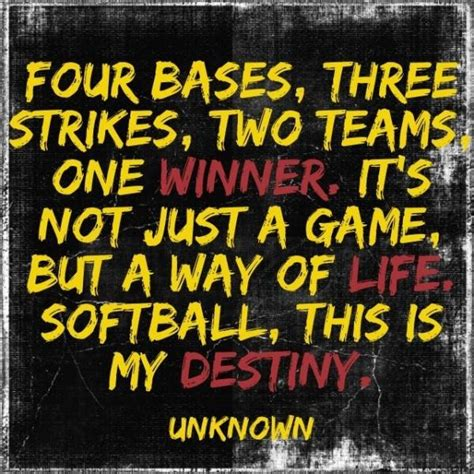 foto de Softball quotes sports sayings best winner Collection Of