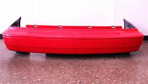 Rear Bumper Cover 93-99 Vw Jetta Mk3 Red - Genuine