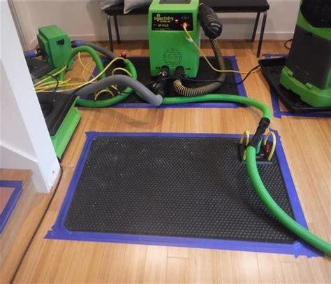 Hardwood Floor Drying Mats - servpro of kirkland gallery photos