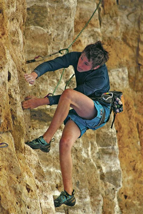 Year Old Climber Takes His Passion World