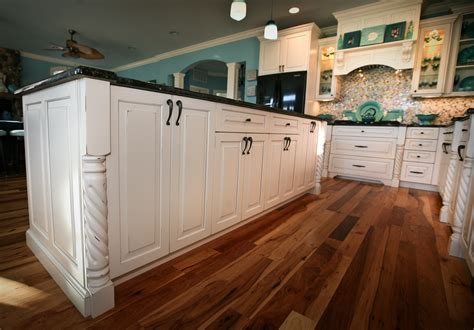 kitchen island with posts teal appeal kitchen point pleasant new jersey by design line kitchens