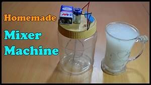 Homemade Mixer Machine