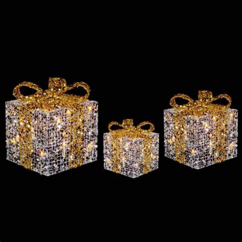 festive glittery light  gift boxes christmas