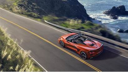 C8 Corvette Convertible Chevy Speed Wallpapers Cars