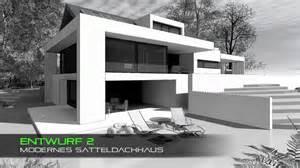 haus mit satteldach moderne architektur - Moderne Architektur Satteldach
