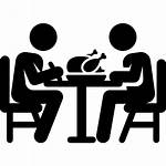Dinner Transparent Lunch Clipart Dining Icons Cena