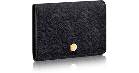 Louis vuitton coin card holder damier graphite n64038. Louis vuitton Business Card Holder in Black   Lyst