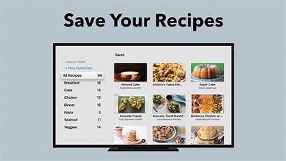 Tv Apple Save Recipe Recipes App Network