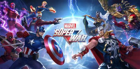 marvel super war  mobile moba based  marvel