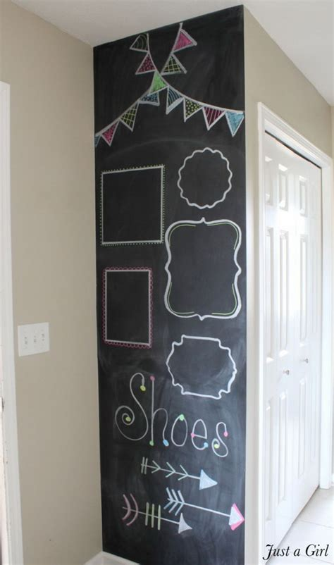 fun  easy diy chalkboard ideas noted list