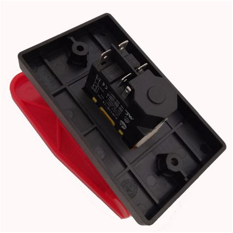 kedu 220v 240v 18a 16a 5e4 table saws electromagnetic pushbutton switch paddle switch for
