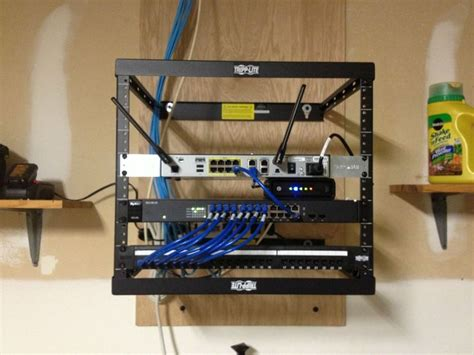 clean network rack no smarter way to do it mediacenter