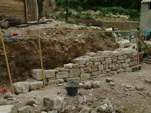 Construire Un Mur En Pierre : muraillers caladeur de provence b tir construire un mur un ~ Melissatoandfro.com Idées de Décoration