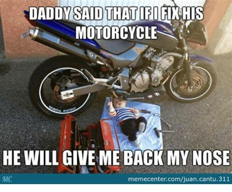 Funny Motorcycle Memes Of 2017 On Sizzle