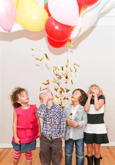diy balloon drop evite
