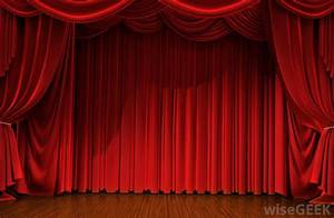 Real red curtain wwwpixsharkcom images galleries for Real theatre curtains