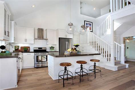 story kitchen cottage kitchen matt white custom homes
