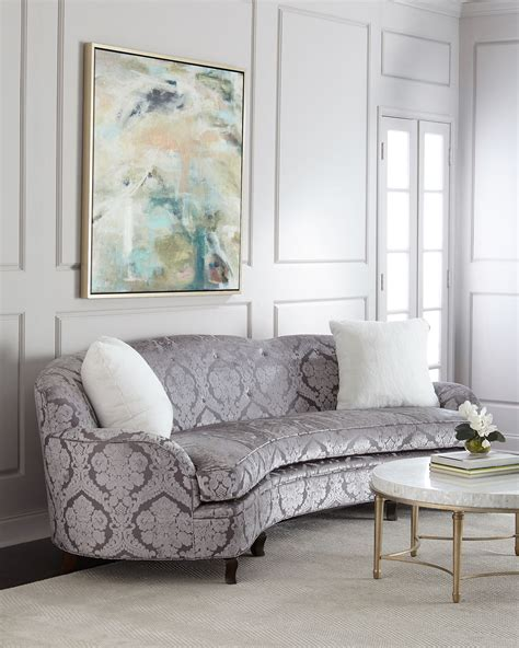 Haute House Sofa by Haute House L Amour Damask Sofa 118 Quot Neiman