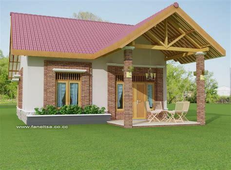 desain model rumah desa  keren housepapernet