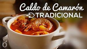 caldo de camarón tradicional