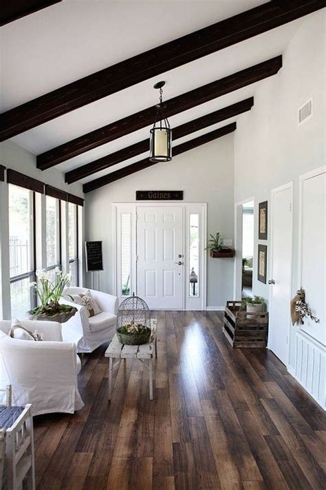 joanna gaines ceiling paint color expose your rusticity with exposed beams