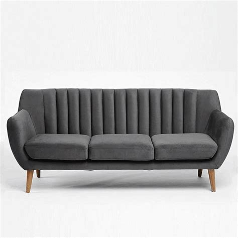 Gray Tufted Loveseat by Modern Gray Tufted Sofas 1000