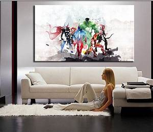 Painting In Living Room Wall
