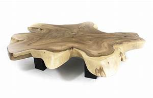 Couchtisch Holz Und Edelstahl
