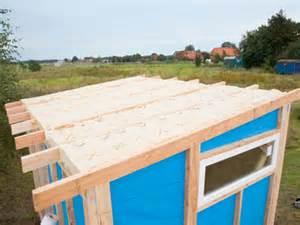 balkon dach selber bauen das dach der krönende abschluss für das gartenhaus selber machen heimwerkermagazin