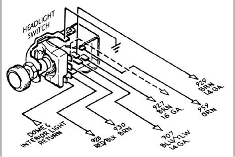 Wiring Headlight Switch Rebel Harness The