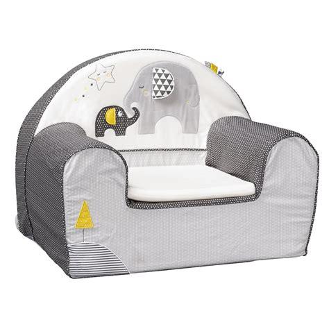 babyfan fauteuil club gris de sauthon baby d 233 co fauteuils aubert
