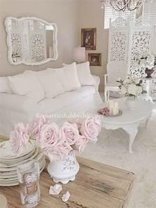 25+ Charming Shabby Chic Living Room Decoration Ideas
