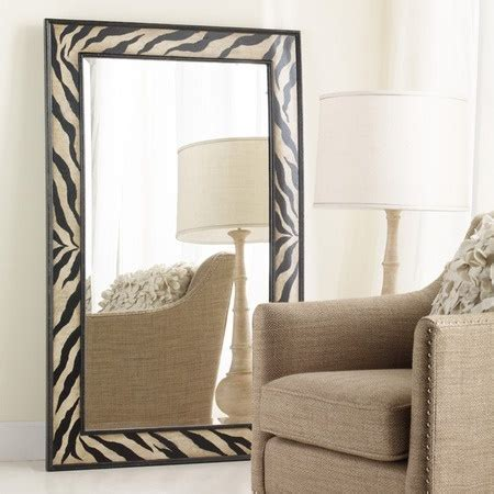 zebra floor mirror 17 best images about kid s decorations on pinterest zebra room decor zebra print bedroom and