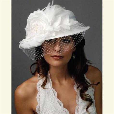 Birdcage Veil Wedding Hat Photo