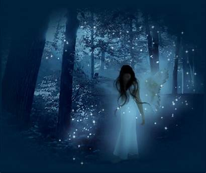 Fairy Winter Goth Gifs Nature Fairies Dark