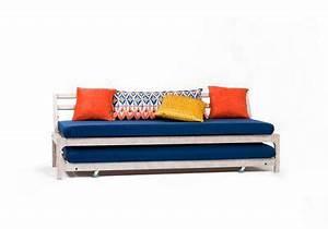 Canapé Lit Petit Espace : lit gain de place lit escamotable et canap convertible pour petit espace my style lit ~ Voncanada.com Idées de Décoration
