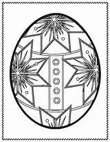 Easter Coloring Pages Egg Eggs Printable sketch template