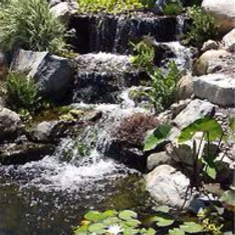 waterfalls for fish ponds love these fish pond waterfalls fish ponds pinterest