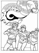 Pages Coloring Nrl Teams Sketchite Template Credit Larger sketch template