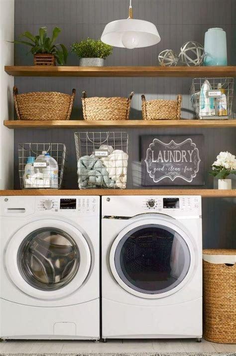 minimalist small laundry room design  decor ideas