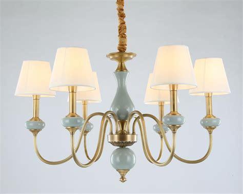 modern full bronze copper chandelier  bedroom dining