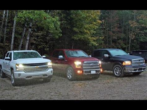 Cheyenne Vs Silverado by Ford F 150 Vs Ram 1500 Vs Chevy Silverado