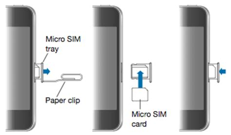 how to take sim card out of iphone 4 remove the sim card from your iphone or apple support 21407