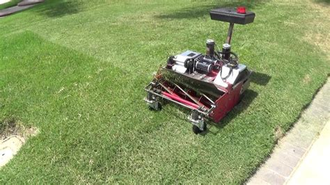 mr tmac s rc lawn mower with hacked ps2 rc 3 youtube