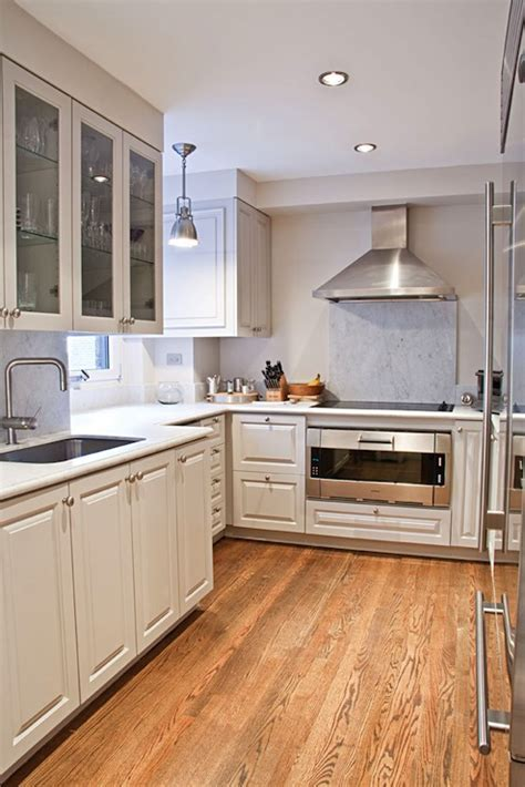 Kitchen Hardwood Floors   Contemporary   kitchen   Best