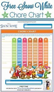 Texas Children Chart Snow White Chore Chart Simply Being