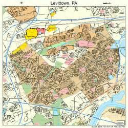 Levittown PA Map