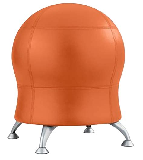 Zenergy Chair Benefits by Safco Zenergy Chair Tangerine 22 1 2 W X 22 1 2 D X