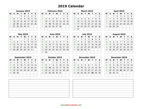 17 Free Printable Word Calendar Templates