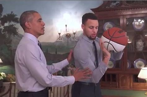 President Obama Mentoring Steph Curry Will Make You Proud